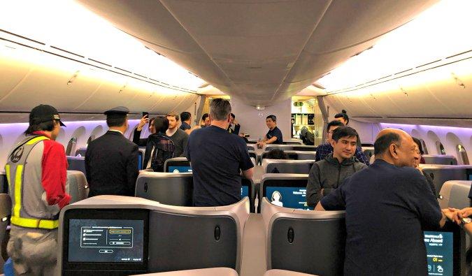 Inside Singapore Airlines' new 787-10 Dreamliner series