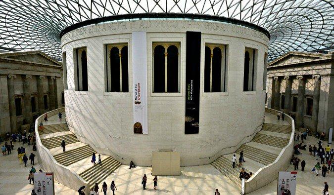 inside the London British Museum