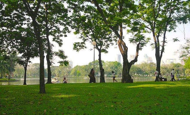 Visit Lumpini Park in Bangkok, Thailand