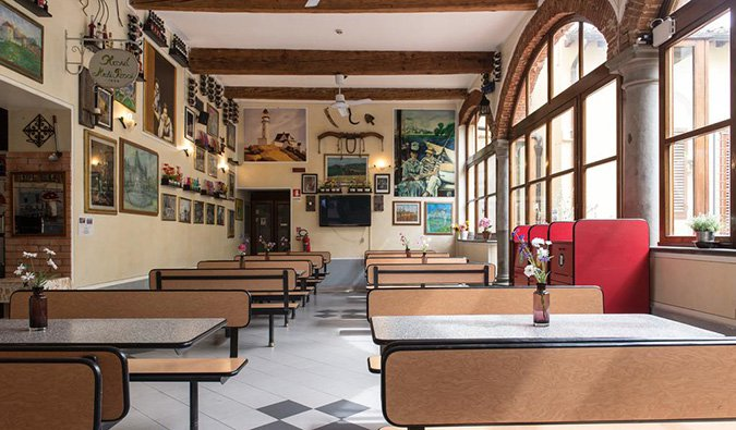 archi rossi hostel in florence, italy