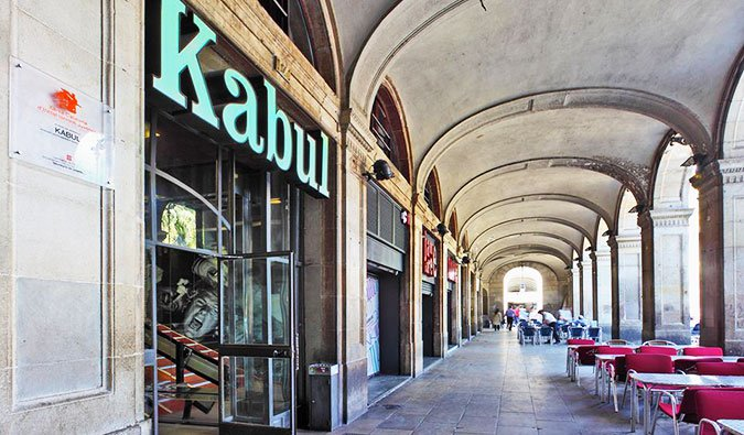 Kabul Hostel in Barcelona Spain