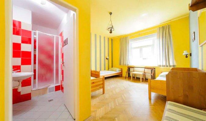 hostel blues dorm in bratislava