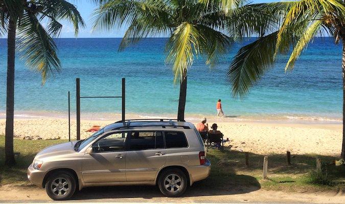 the beach on buck island, st. croix usvi