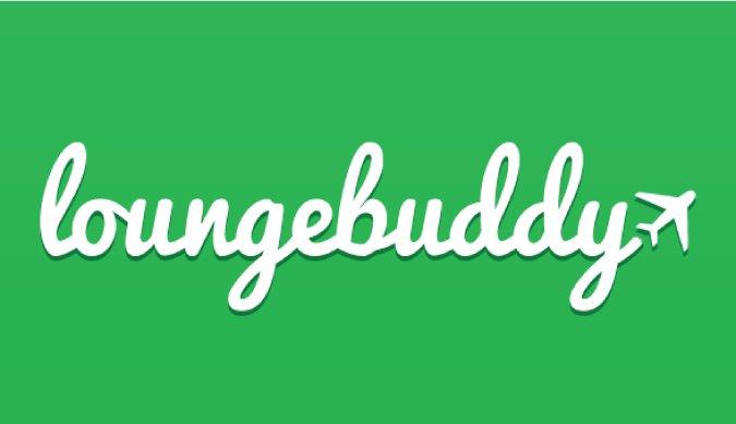 Loungebuddy logo for the travel app