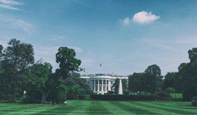 he white house in Washington d.c.