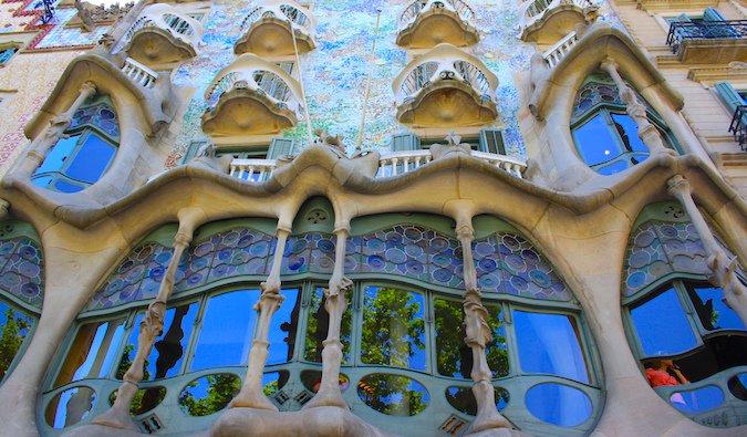 Caso Batllo in Barcelona Spain