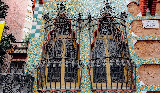 Casa Vicens in Barcelona, Spain