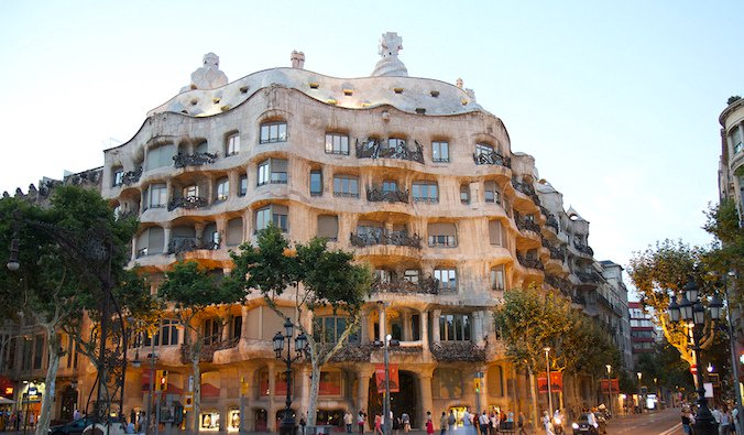 Casa Mila, Barcelona