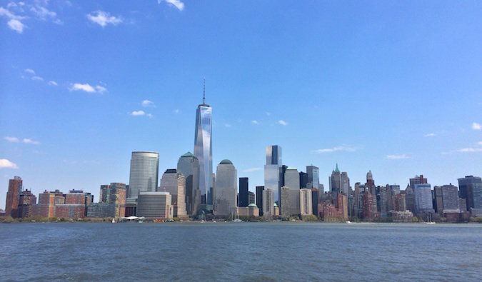the impressive new york city skyline