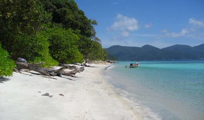 ko tarato national park in souther thailand