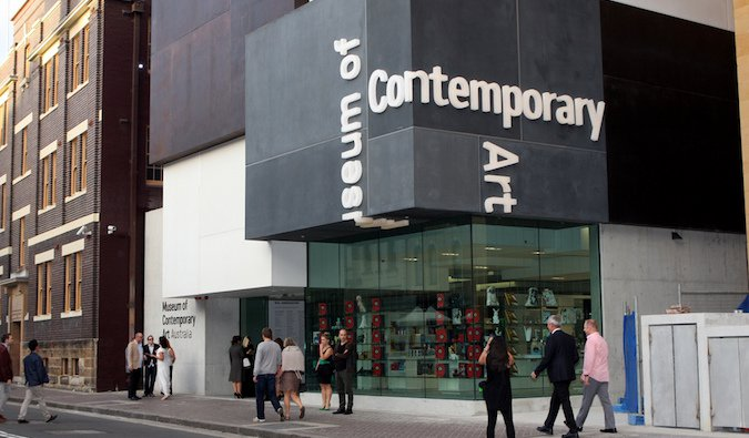 Museum of Contemporary Art in Sydney, Australia