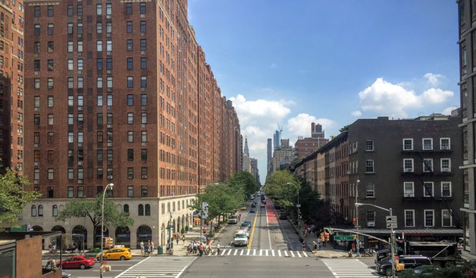 street view of Chelesa, NYC