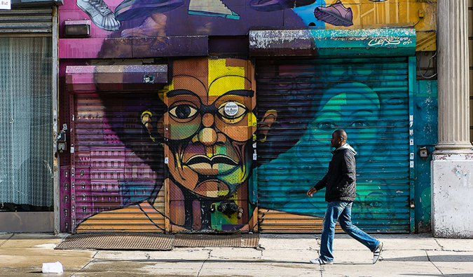 street art in Harlem; Photo by Jose Carlos Machado (flickr:@joseclm)