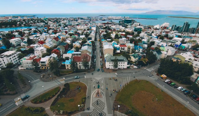 A view of Reykjavik