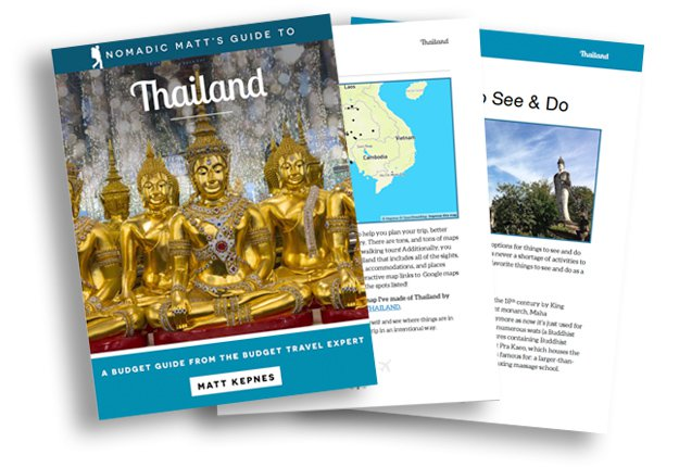 Thailand Guidebook Nomadic Matt