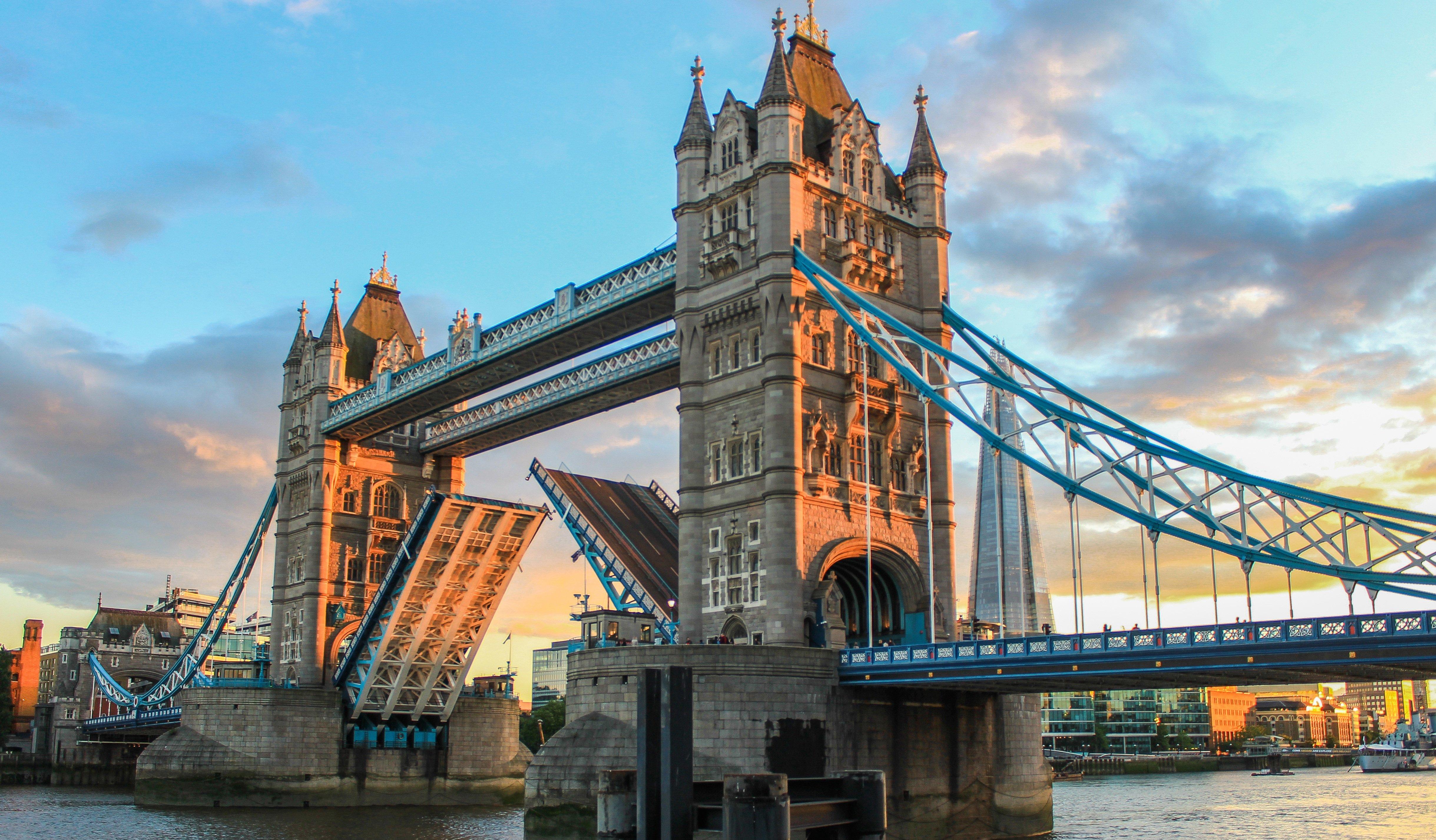London Bridge at sunset, London