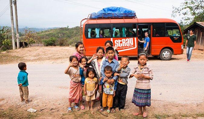 Stray Asia tour bus; photo from Stray Asia
