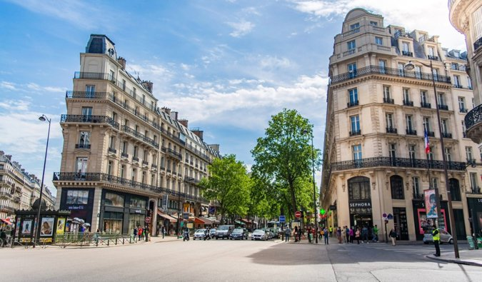 The stunning historic architecture in Paris, France