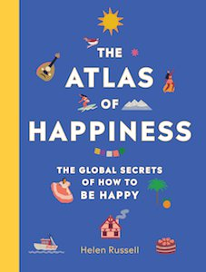 The Atlas of Happiness book cover by Helen Russell