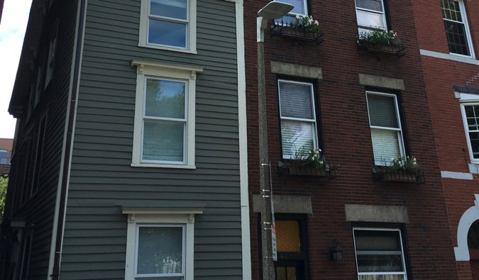 the skinny house in Boston, USA