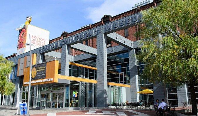 the children's museum in Boston