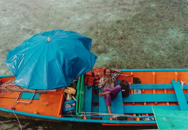 Boats of Ko Tao