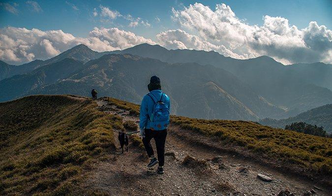 hiking on Hehuan Mountain, Taiwan