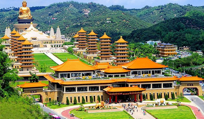 Fo Guang Shan Monastery, Taiwan