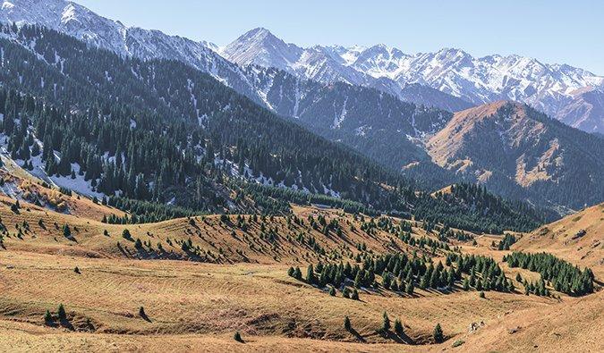 Kazakhstan mountains