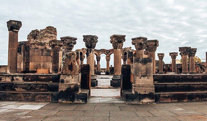 ancient ruins in Armenia