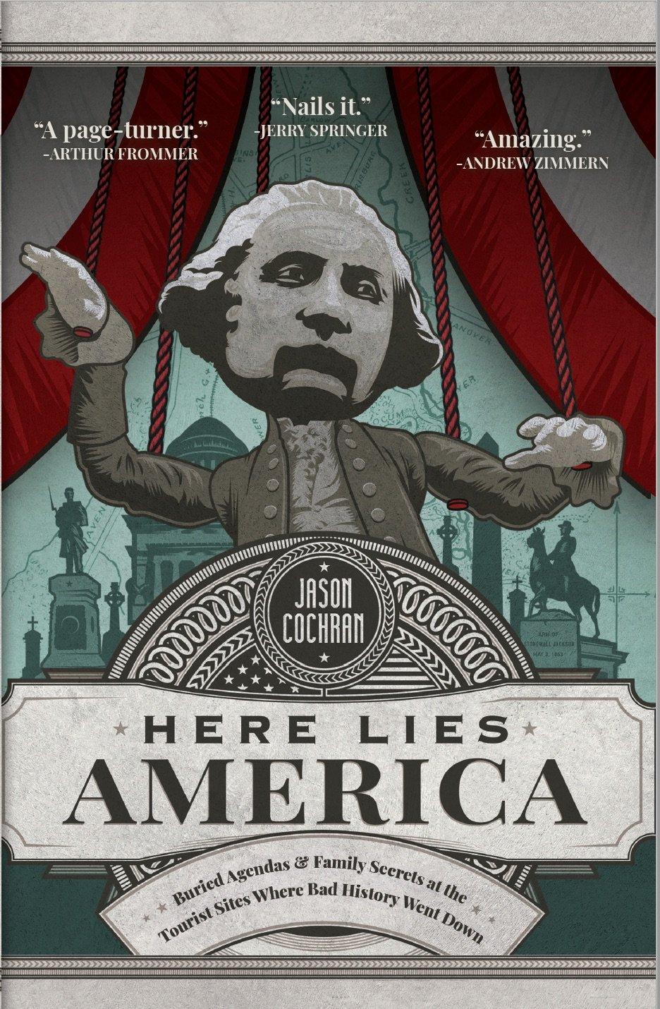 Here Lies America book cover