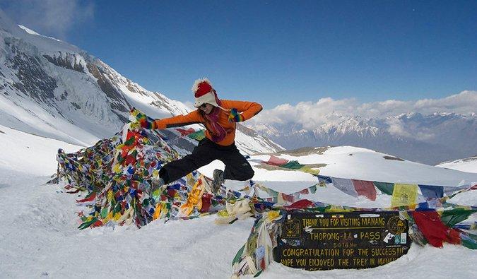 Kristin Addis in Nepal