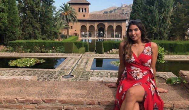 Natasha, a solo female traveler and English teacher in Spain