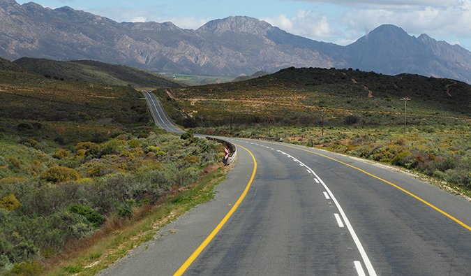 road trip on the Garden Route in South Africa