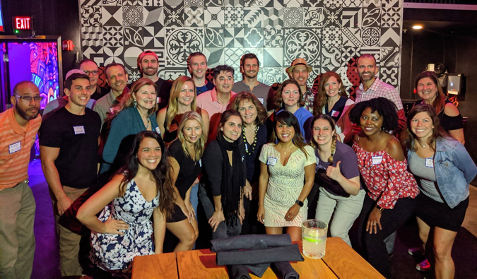 A Nomadic Network meetup with lots of local travelers