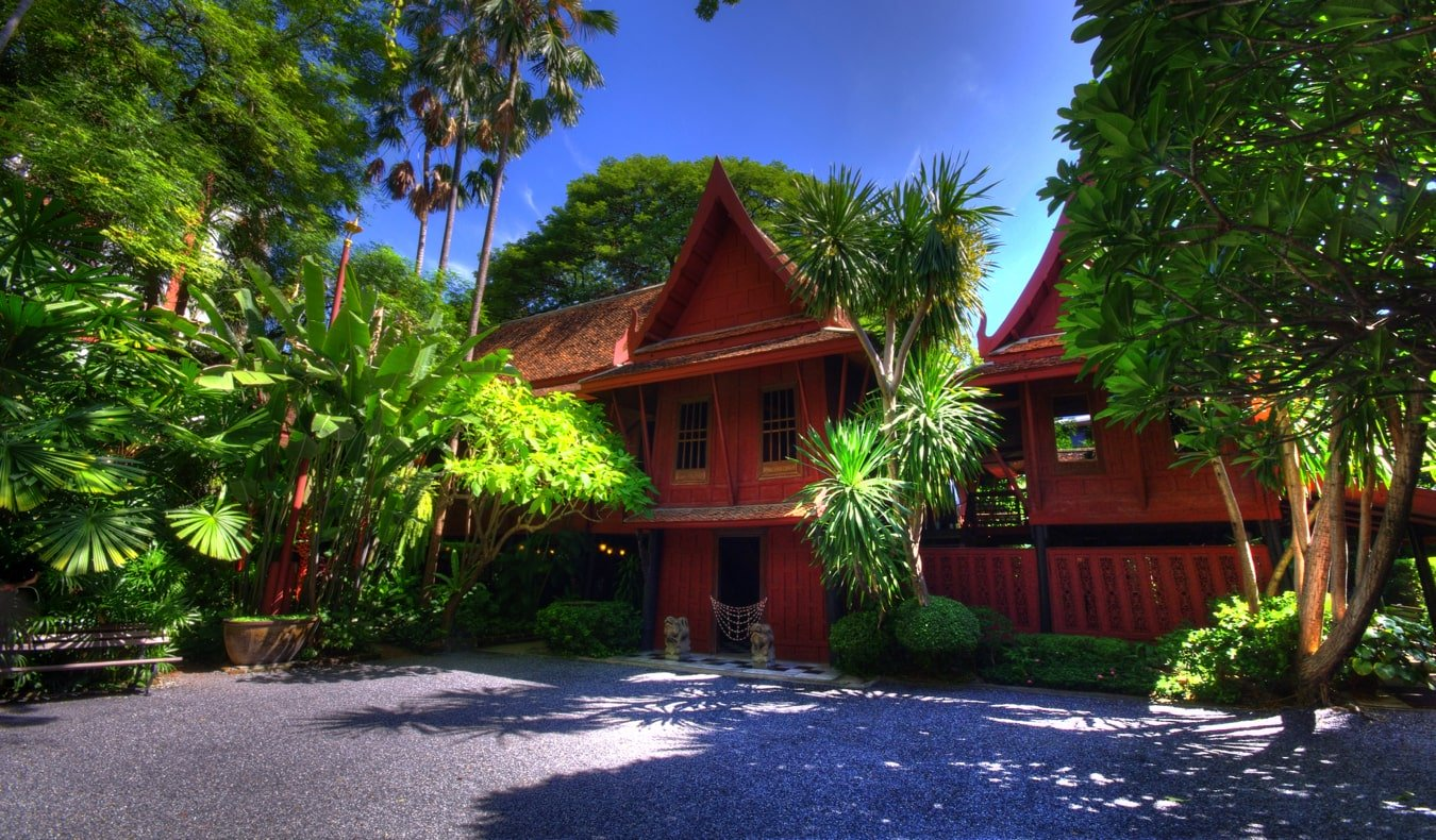 The historic Jim Thompson's house in  Bangkok, Thailand